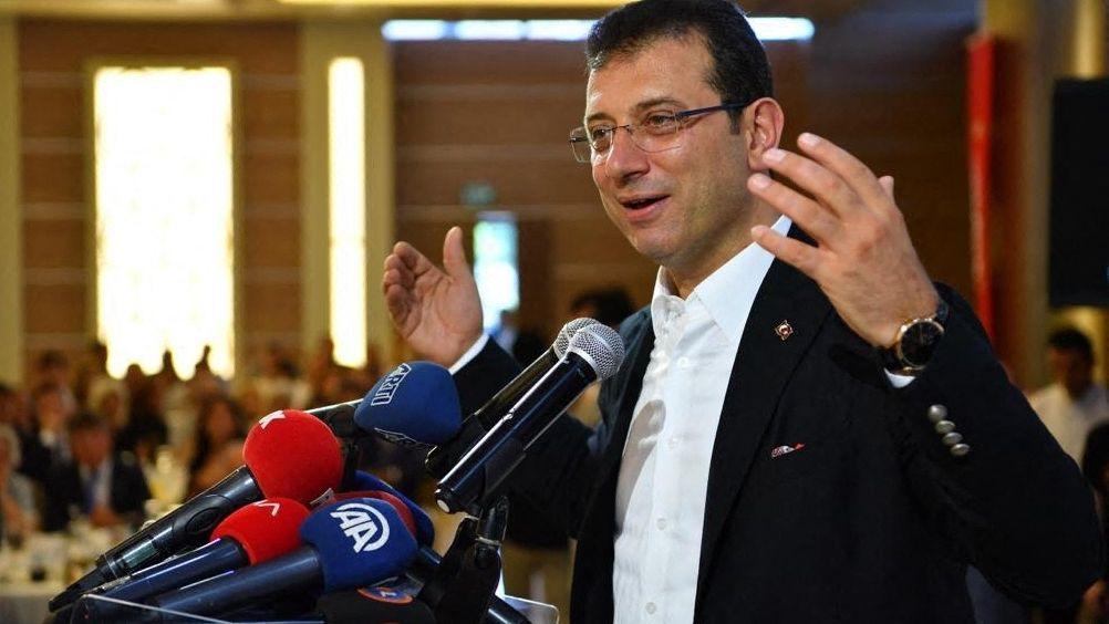 Der Istanbuler Bürgermeister Imamoglu