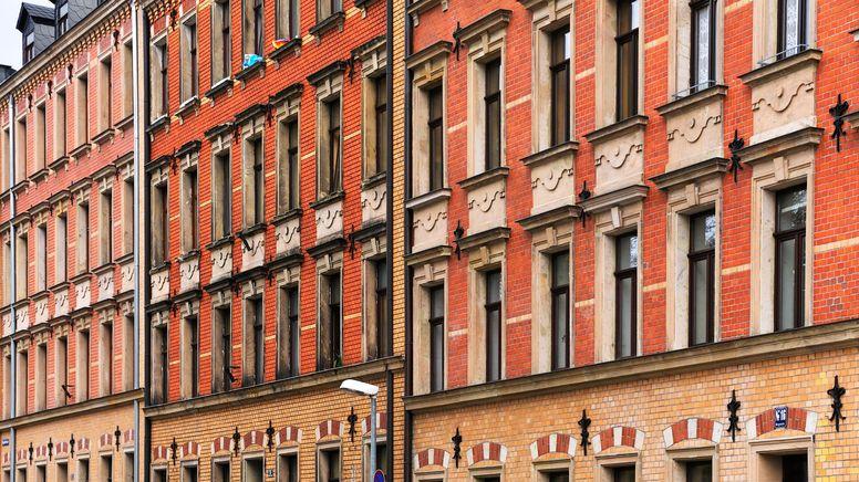 Häuserfassade in Fürth   Bild:pa/dpa/Helmut Meyer zur Capellen