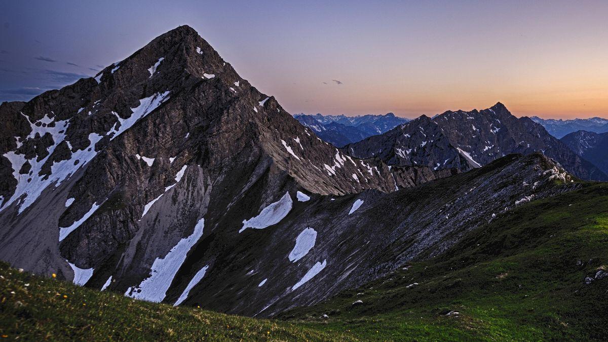 Die Kreuzspitze im Ammergebirge.