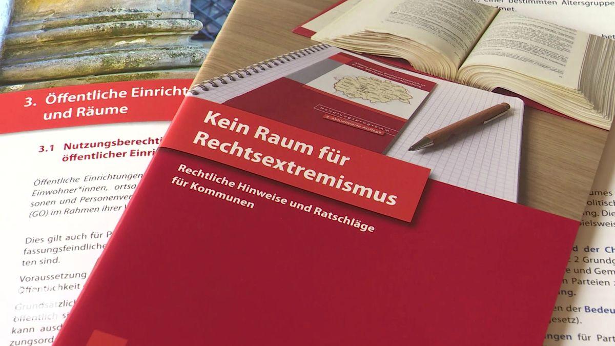 Broschüre gegen Rechtsextremismus