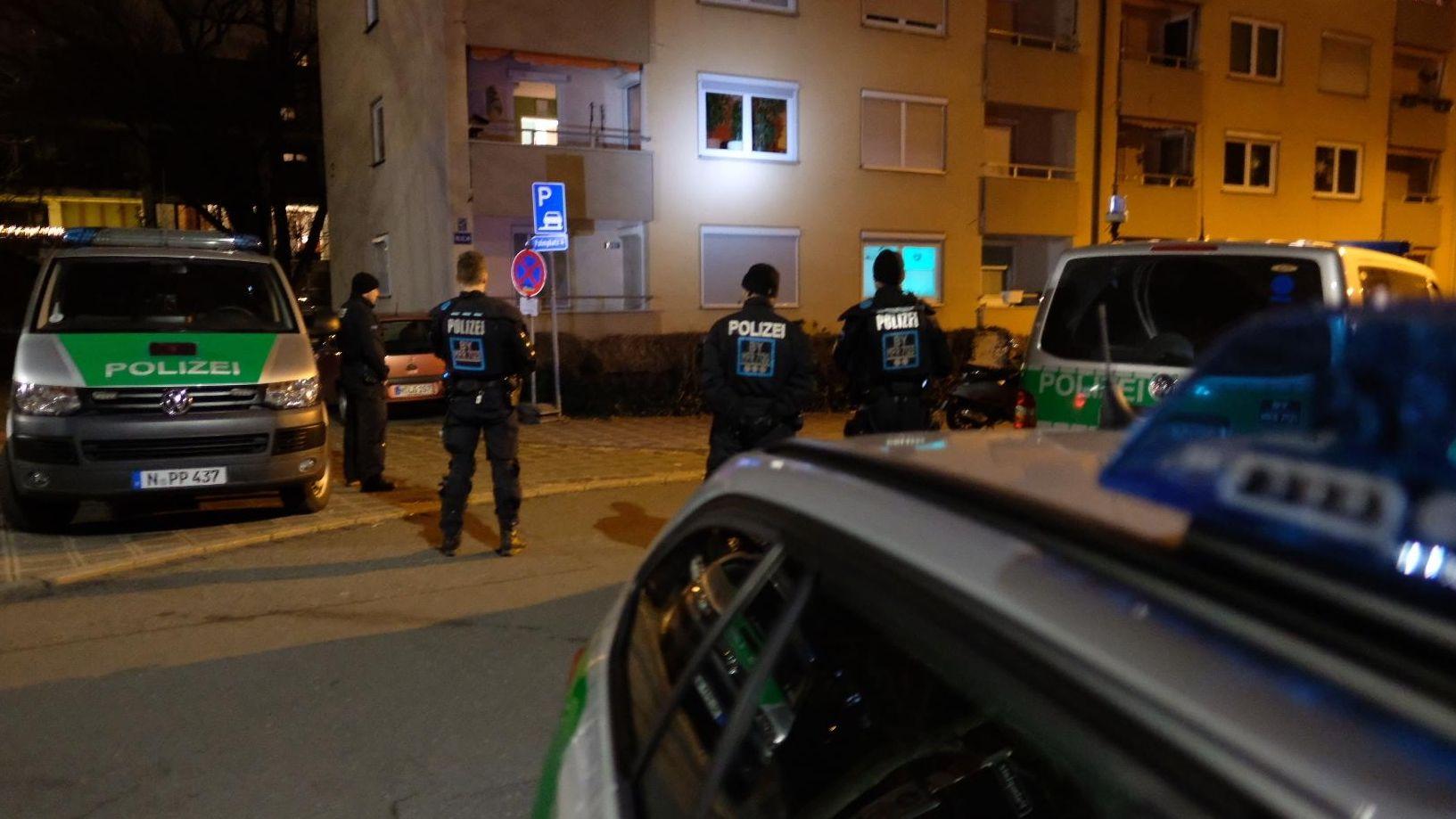 Polizeieinsatz nach Messerangriffen in Nürnberg