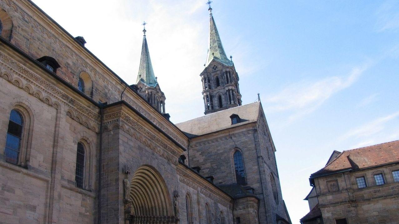 Eine katholische Kirche von außen