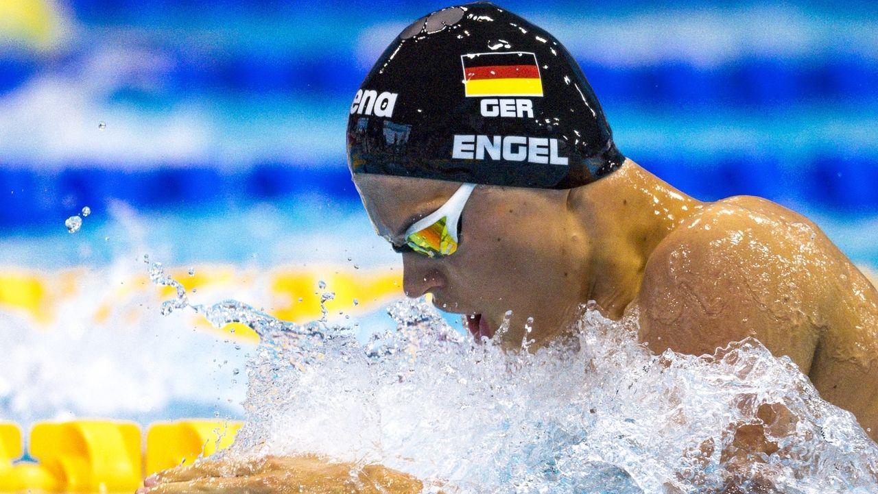 Taliso Engel, Para-Weltmeister im Schwimmen