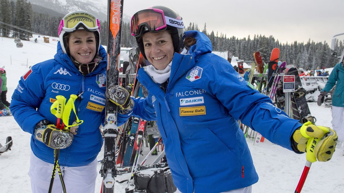 Elena Fanchini and Nadia Fanchini