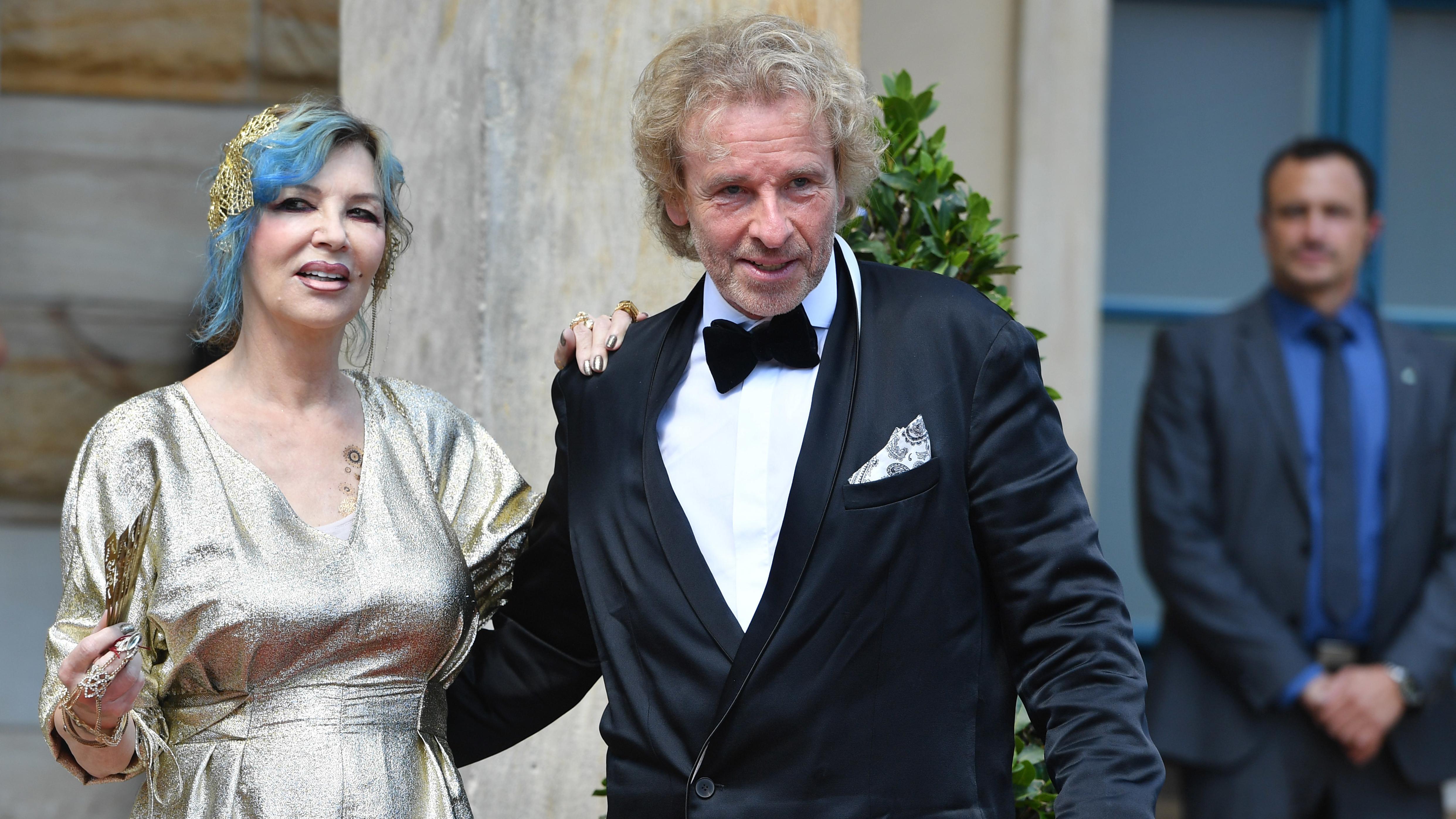 Thea und Thomas Gottschalk.