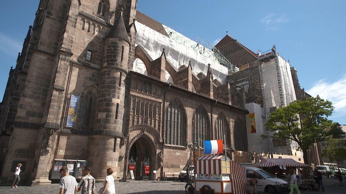 2,8 Millionen Euro für Sanierung der Nürnberger Lorenzkirche
