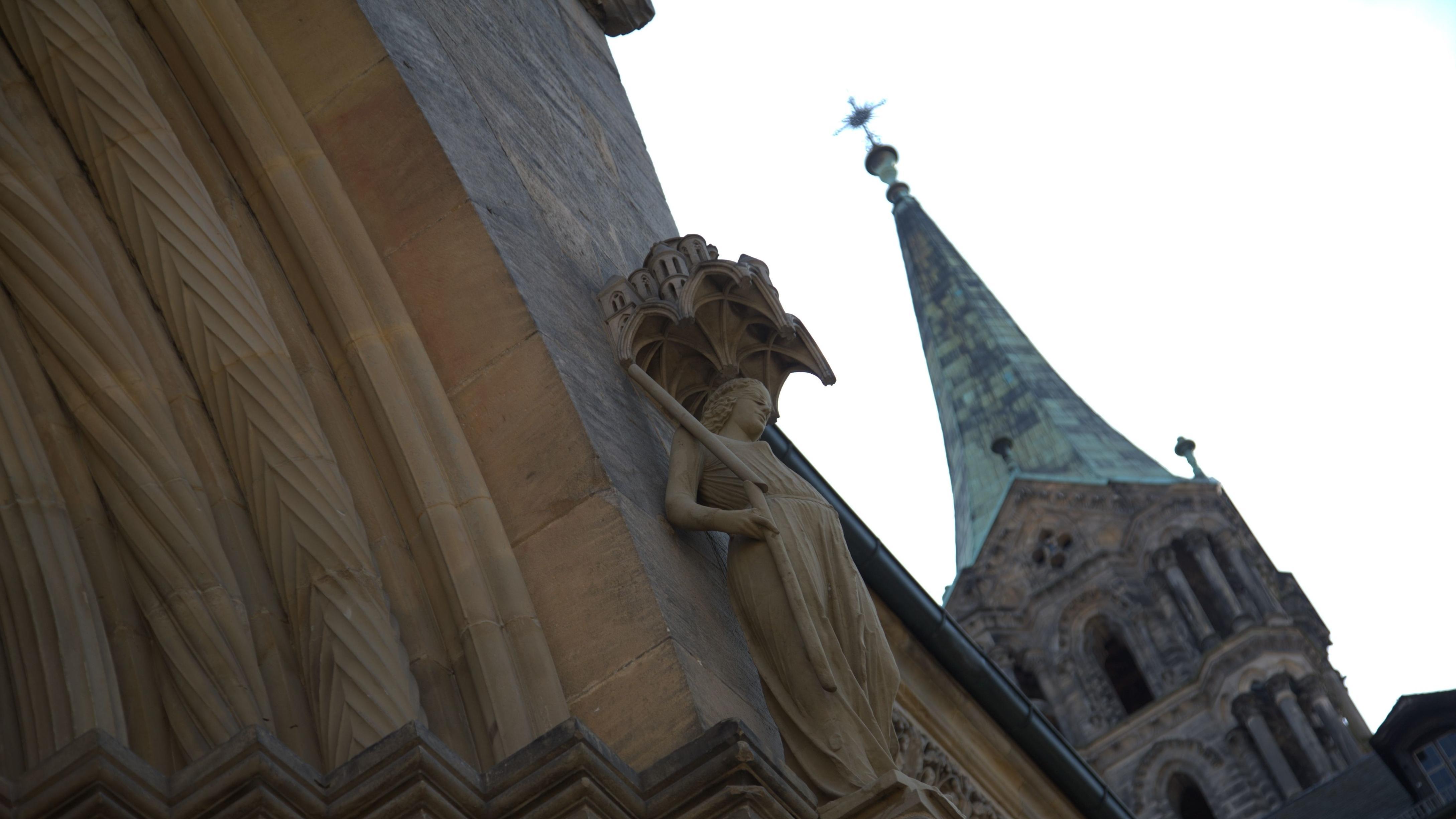 Marienpforte am Bamberger Dom