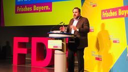 FDP-Landeschef Daniel Föst | Bild:BR / Kappel