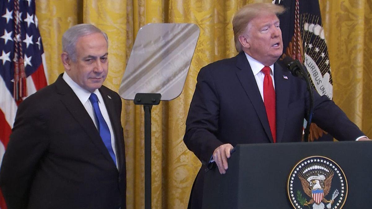 Benjamin Netanjahu, Ministerpräsident von Israel, und US-Präsident Donald Trump.
