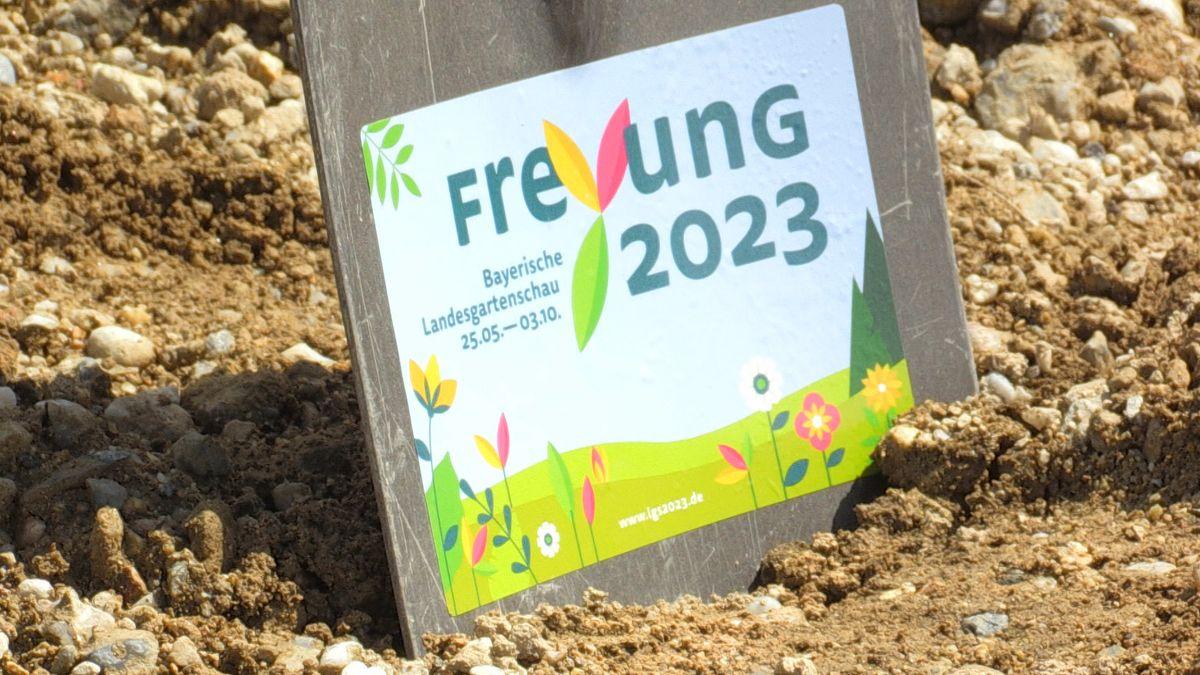 Logo zur Landesgartenschau 2023 in Freyung