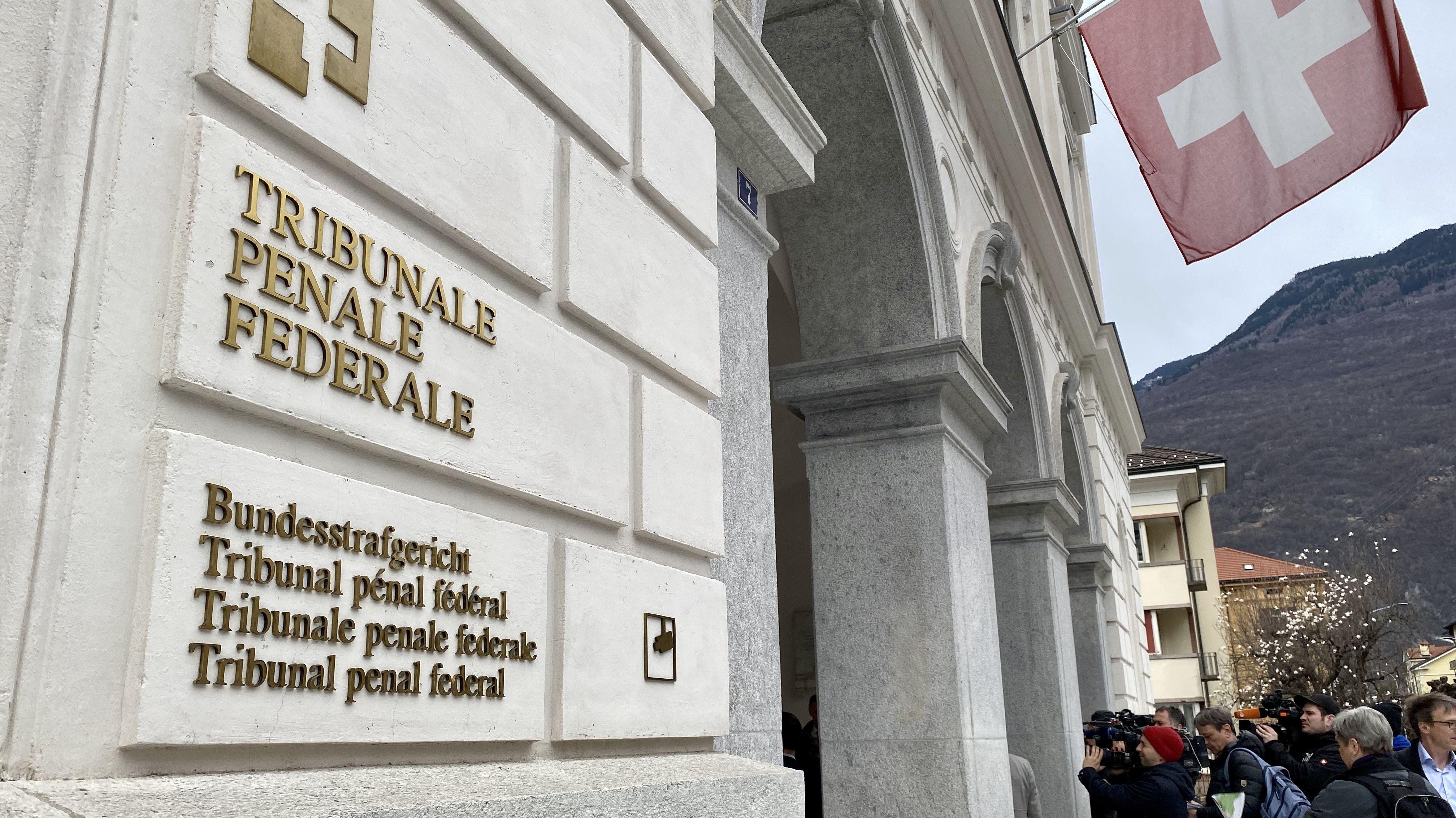 Das Schweizer Bundesstrafgericht in Bellinzona.