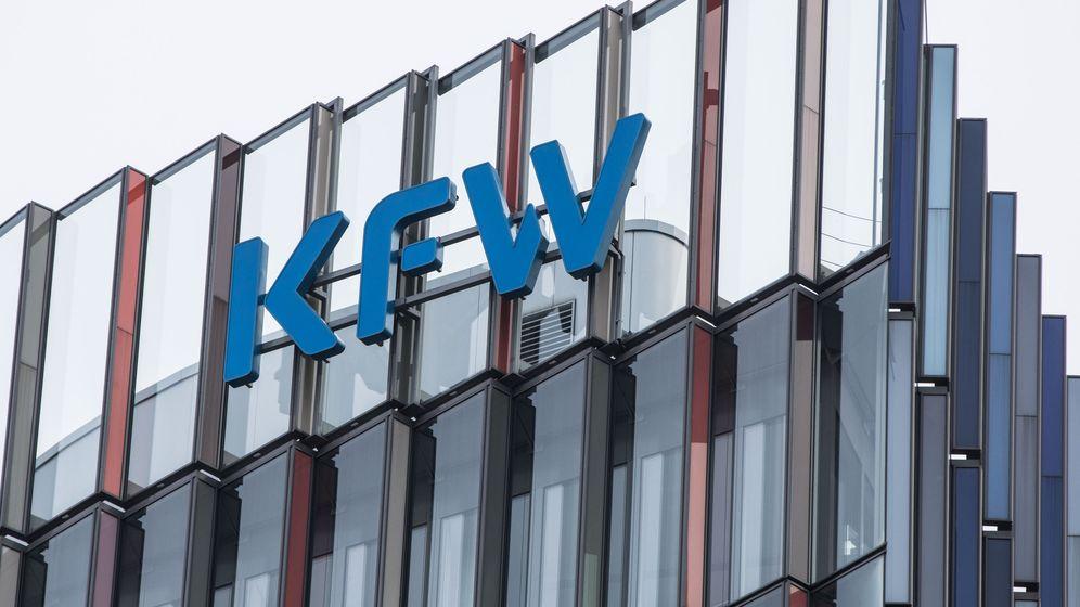 Verwaltungsgebäude KfW in Frankfurt | Bild:BR