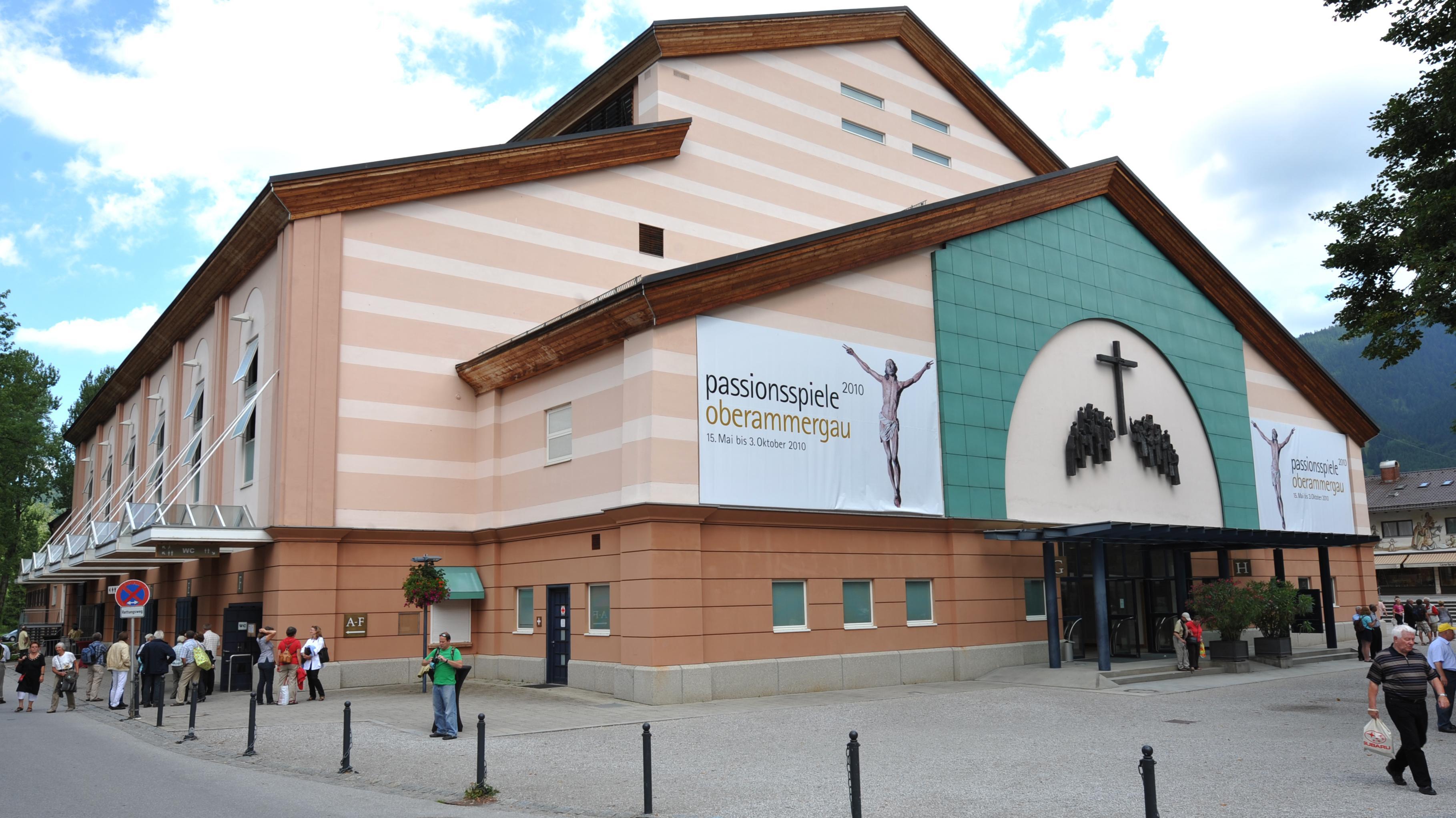 Das Passionsspielhaus in Oberammergau