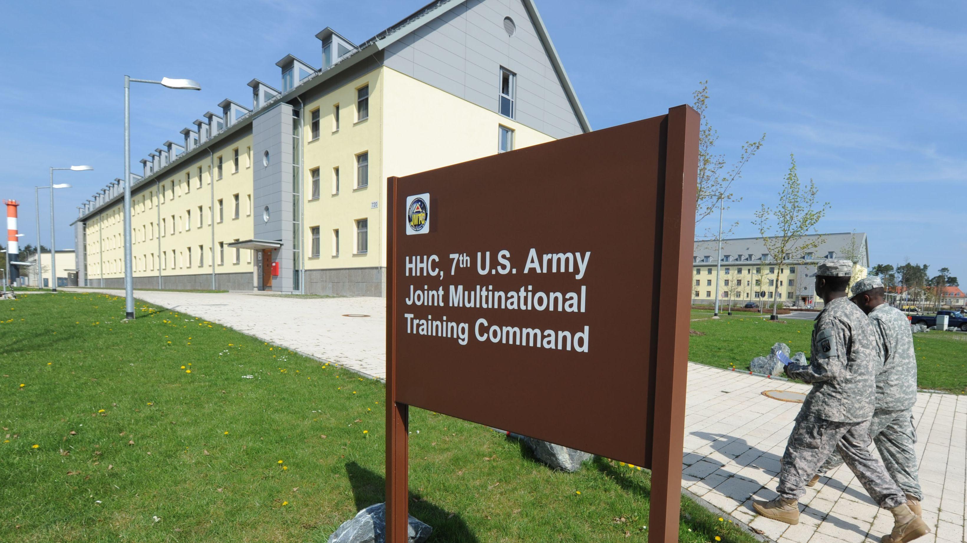 US-Soldaten auf dem Truppenübungsplatz in Grafenwöhr.