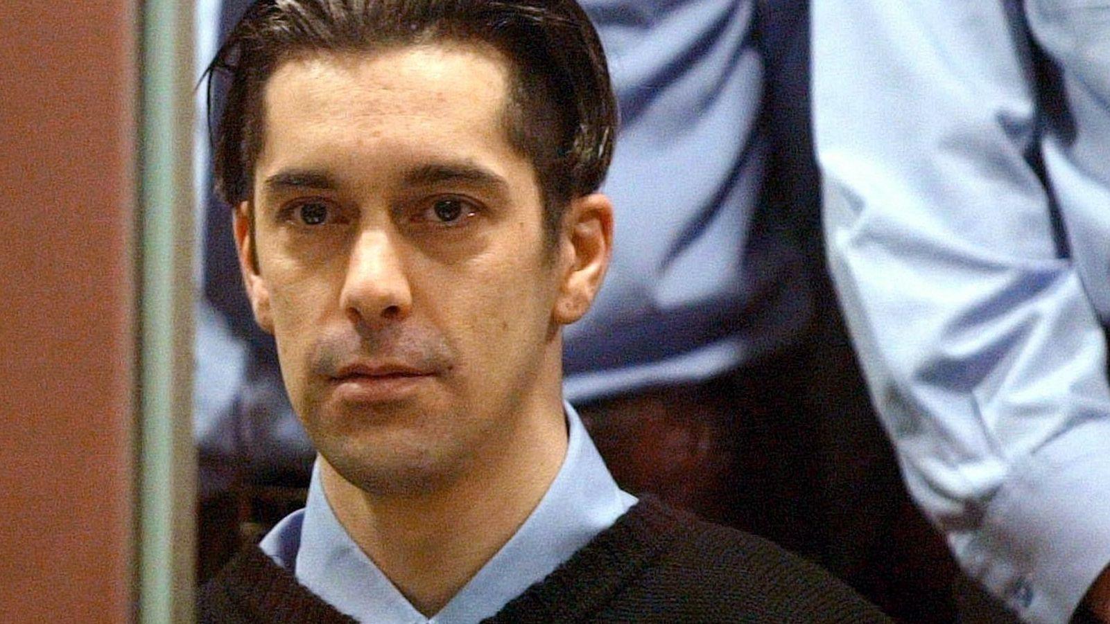 Michel Lelièvre 2004 bei der Urteilsverkündung vor Gericht in der Provinzhauptstadt Arlon.