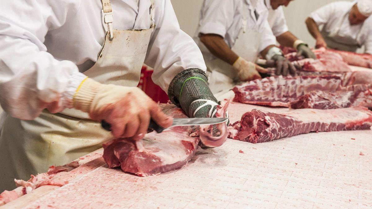 Nach zahlreichen Corona-Ausbrüchen in Schlachthöfen steht die Branche für ihre Arbeitsbedingungen in der Kritik (Symbolbild)