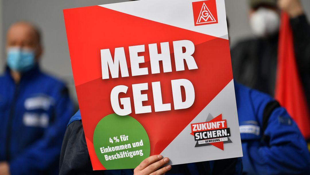 Mehr Geld fordert die Industriegewerkschaft Metall für Beschäftigte in Oberfranken.