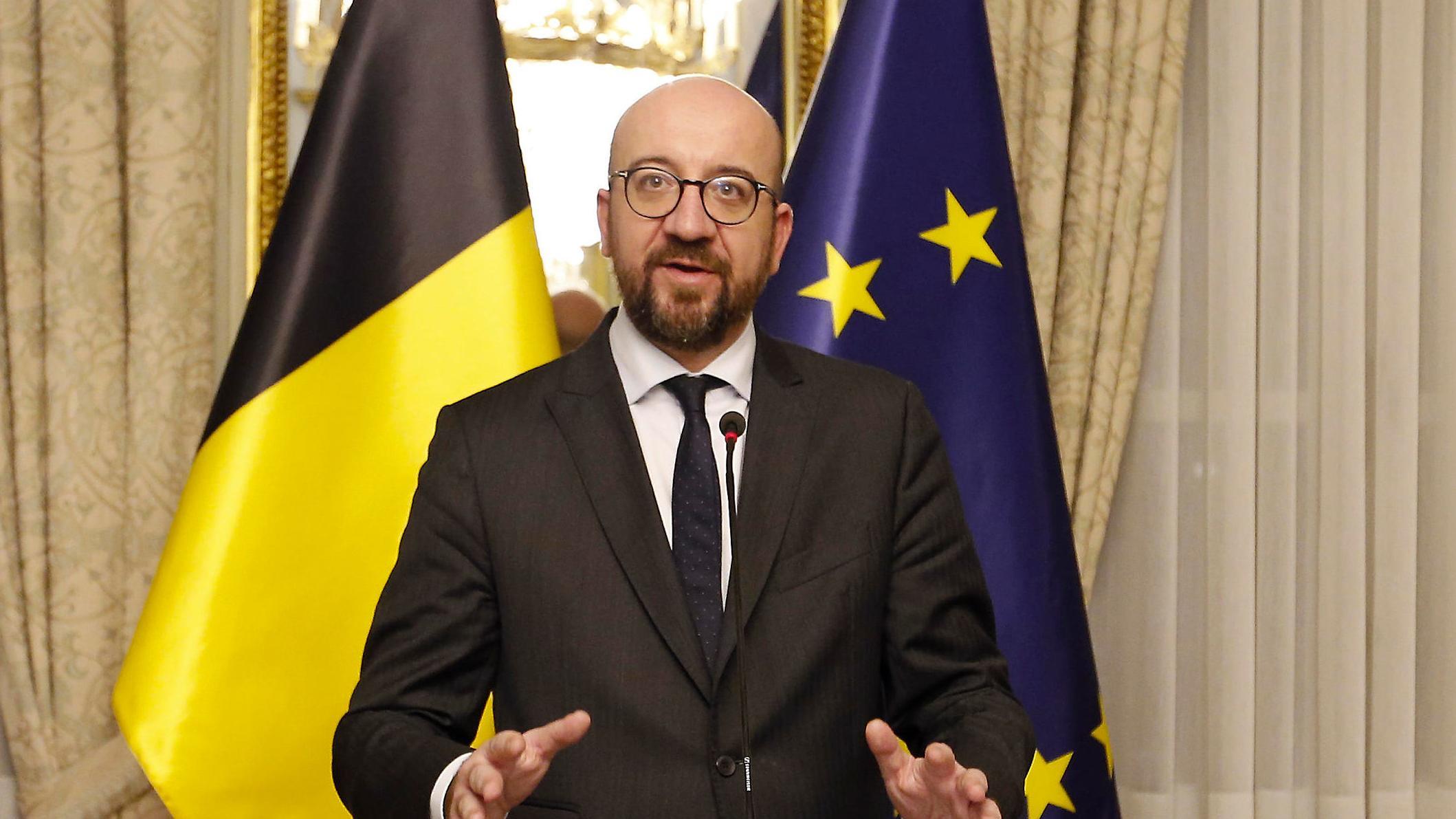 Der belgische Ministerpräsident Charles Michel