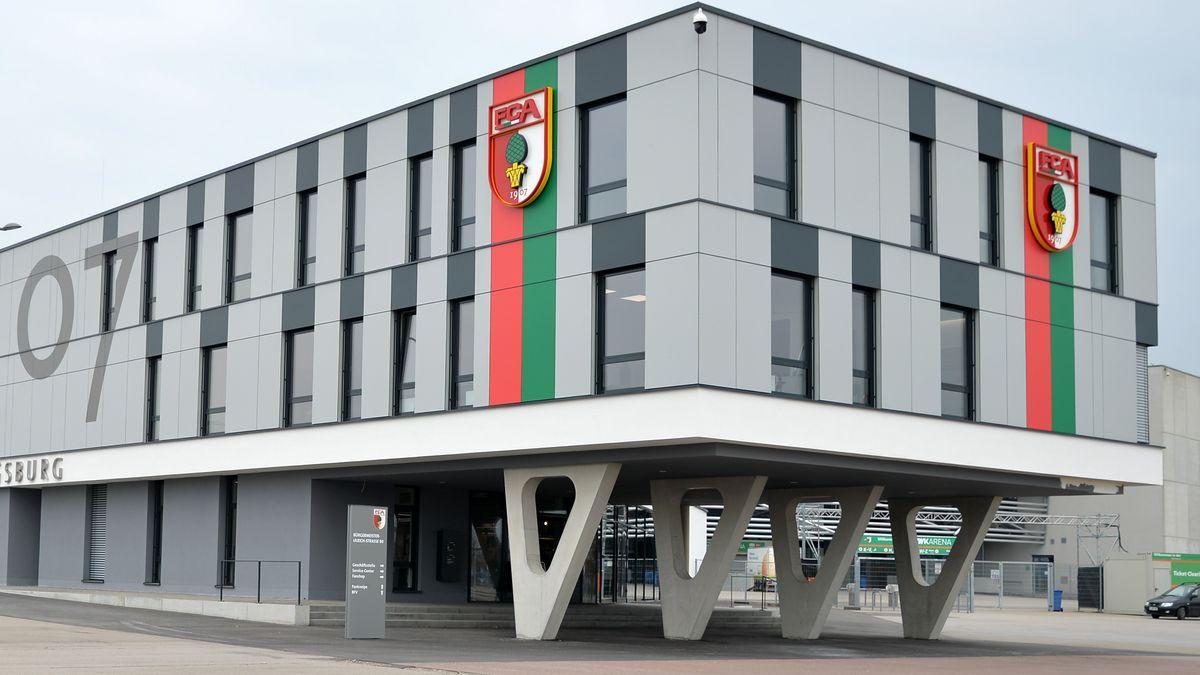 Archivbild: Geschäftsstelle des FC Augsburg