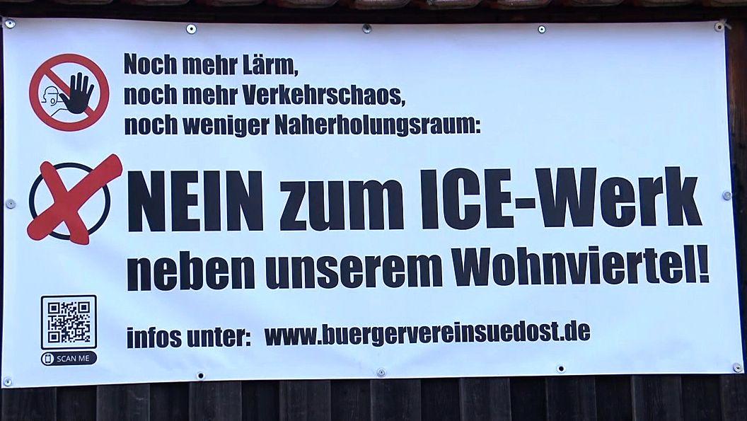 Bürgerverein gegen neues ICE-Werk