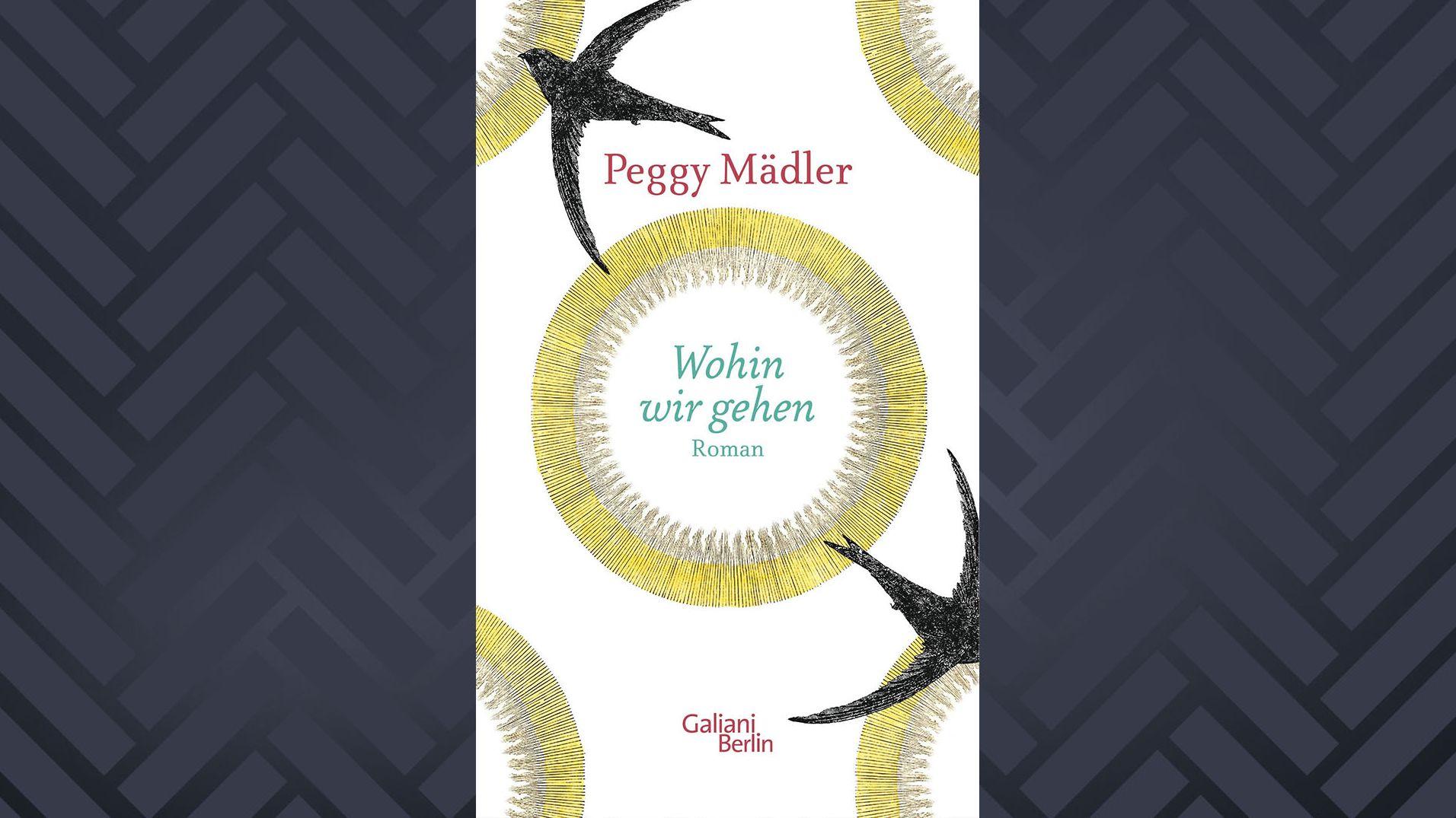 """Buchcover Peggy Mädler, """"Wohin wir gehen"""""""