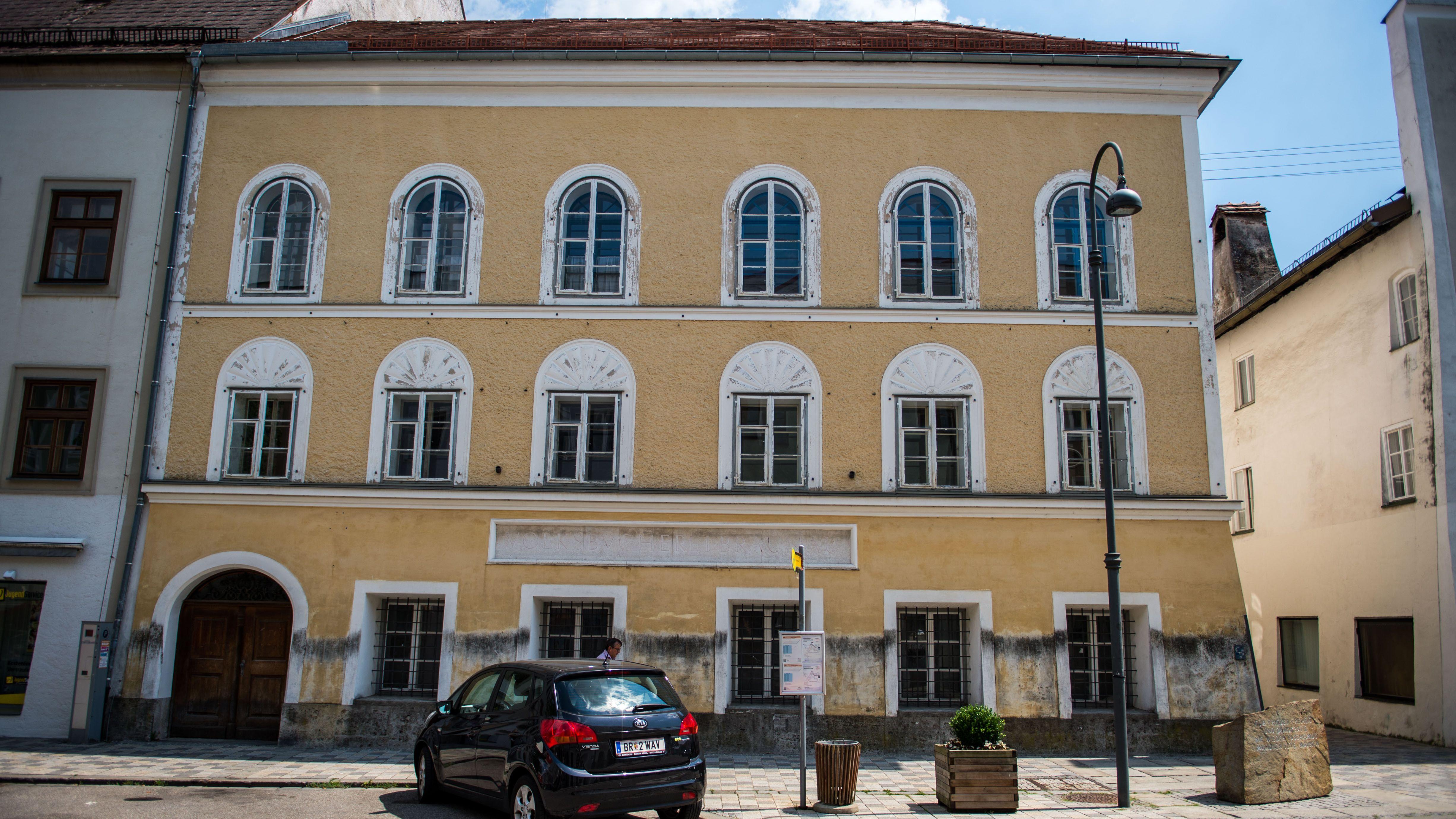 In diesem Haus in Braunau am Inn wurde Adolf Hitler 1889 geboren.