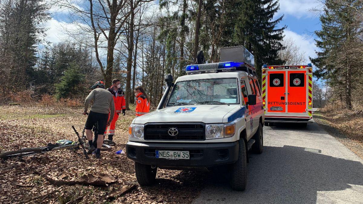 Bergwacht-Einsatz in der Rhön