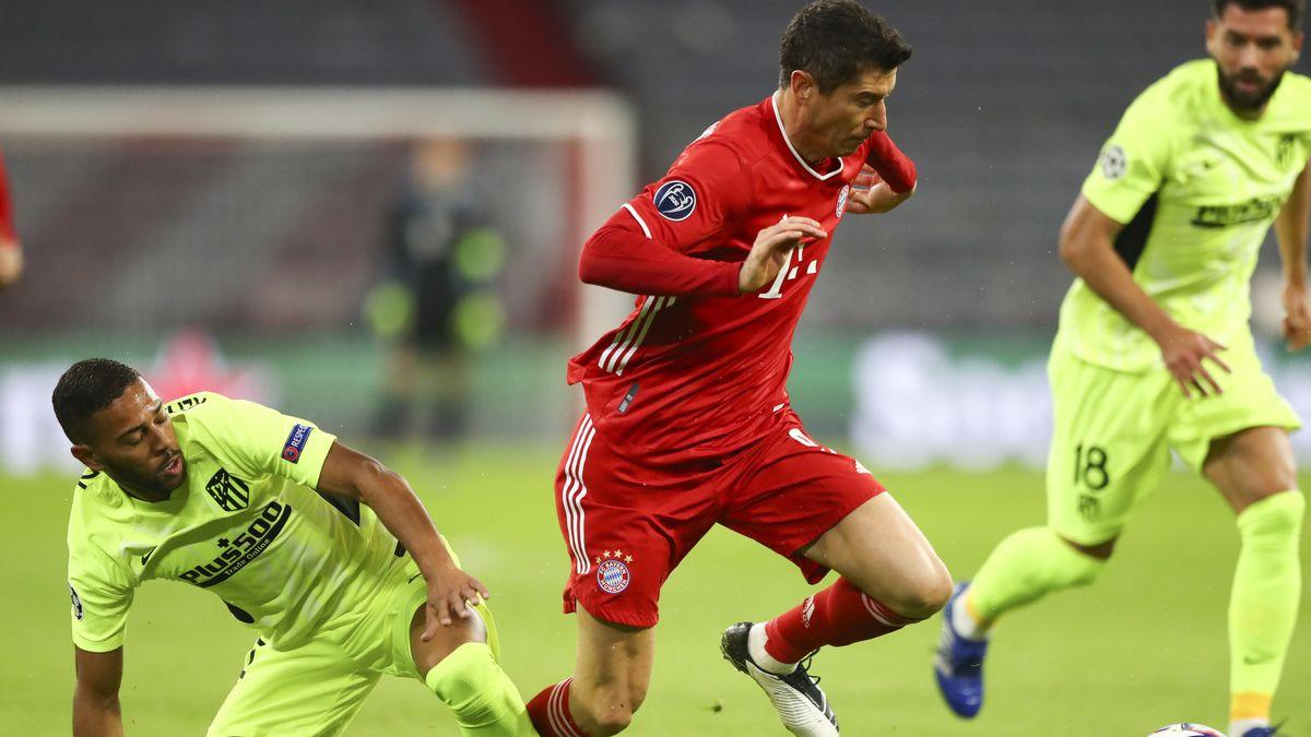 Spielszene FC Bayern München - Atlético Madrid