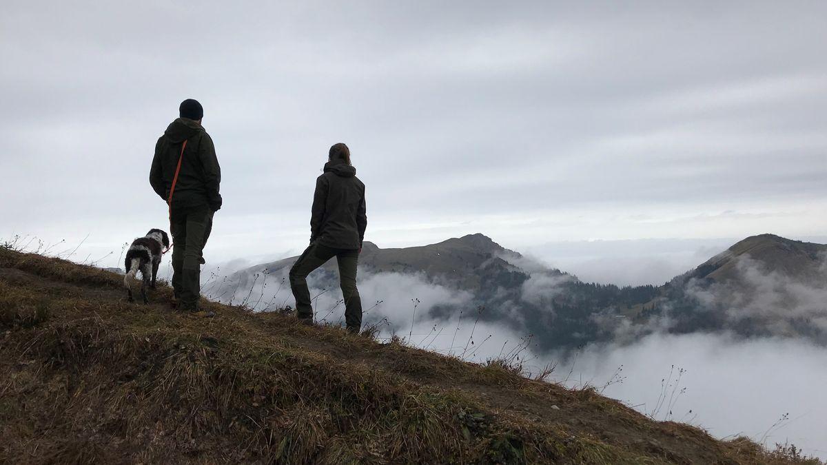 Theresa Hilber und Florian Heinl – Ranger im Naturpark Nagelflukette