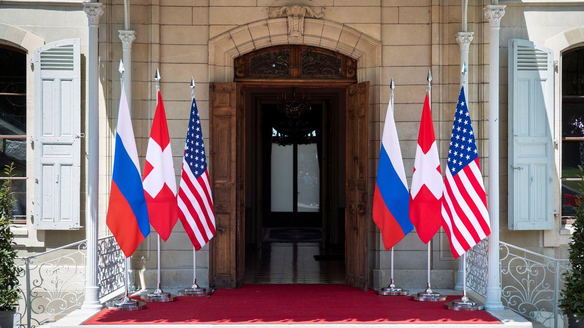 Die Villa La Grange in Genf. Hier findet der USA-Russland-Gipfel statt.