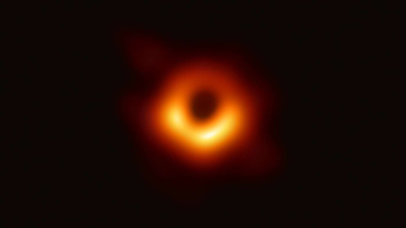 Erste direkte visuelle Nachweis eines Schwarzen Lochs