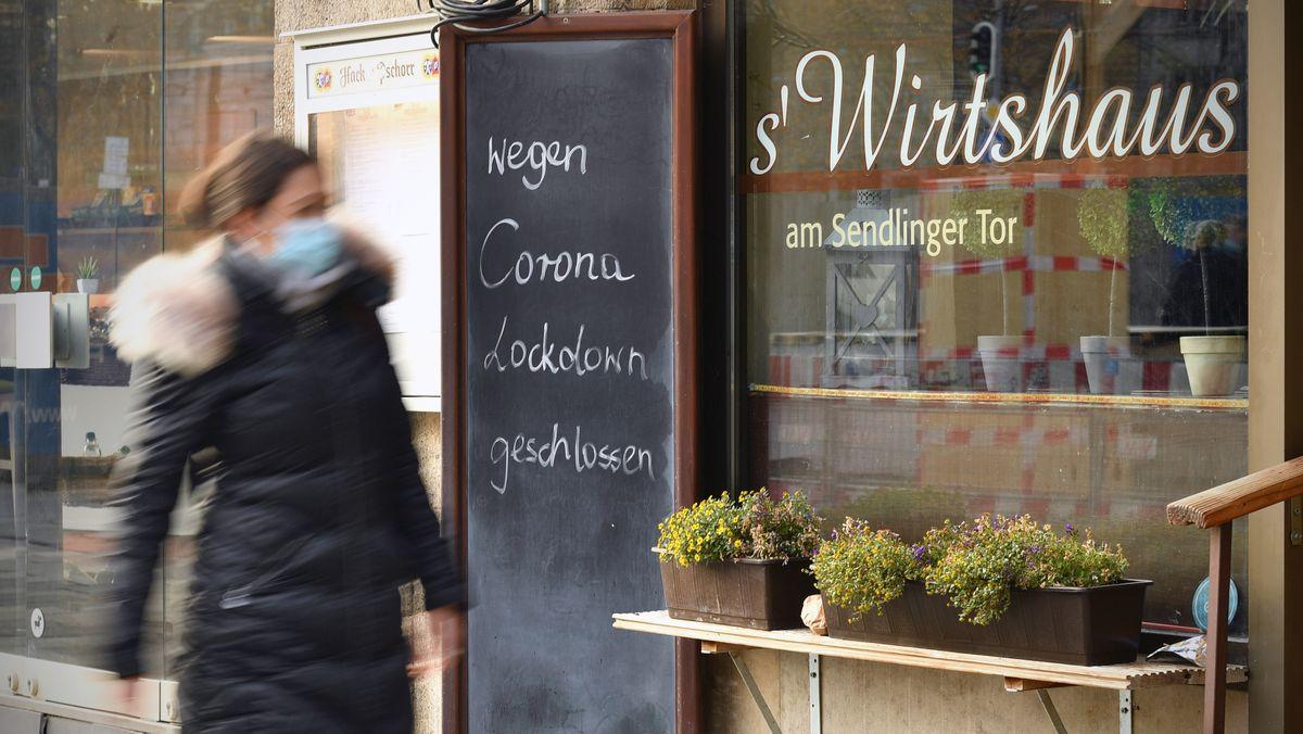 Geschlossenes Wirtshaus in München (Symbolbild).