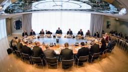 Bayerisches Kabinett | Bild:pa/dpa