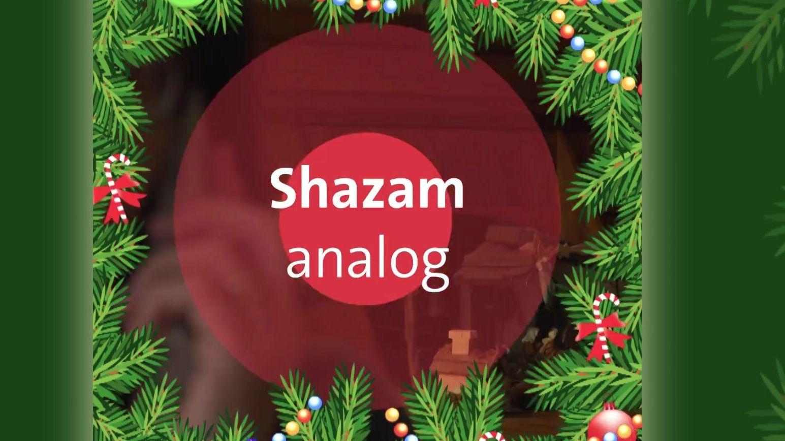 Shazam analog – beim Büro für Weihnachtslieder