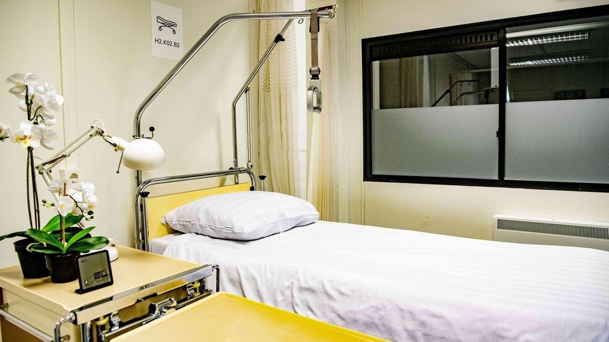 Symbolbild:  Krankenhausbett