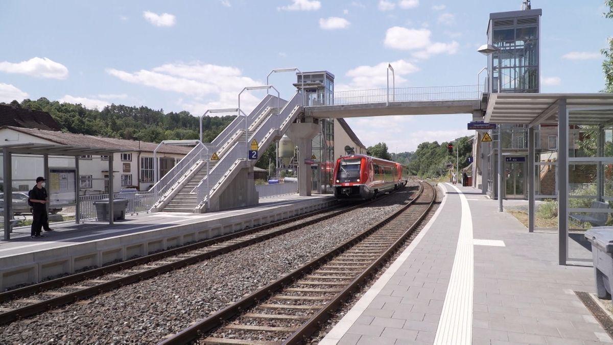 Barrierefreier Bahnhof Untersteinach