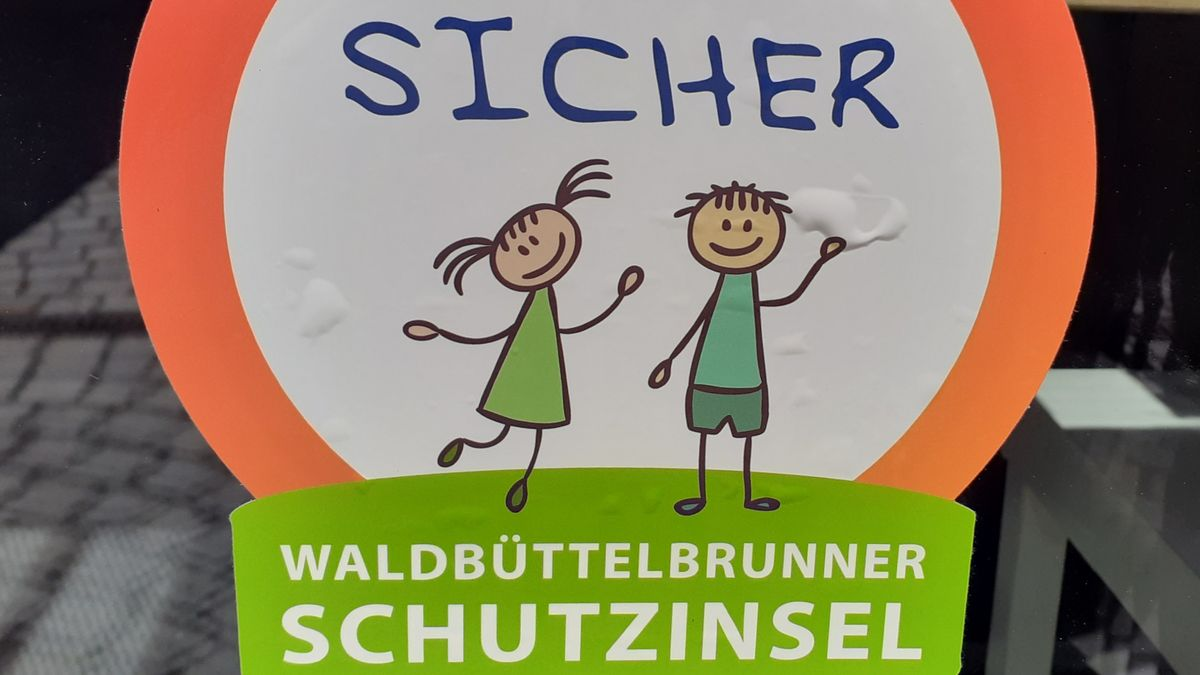 """Logo der Aktion """"Waldbüttelbrunner Schutzinsel"""""""