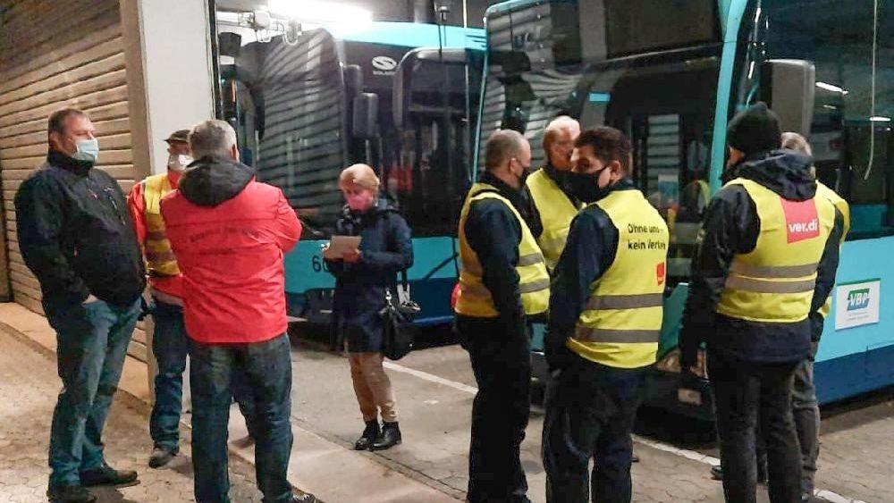 Busfahrer der Stadtwerke Passau streiken seit 4 Uhr morgens
