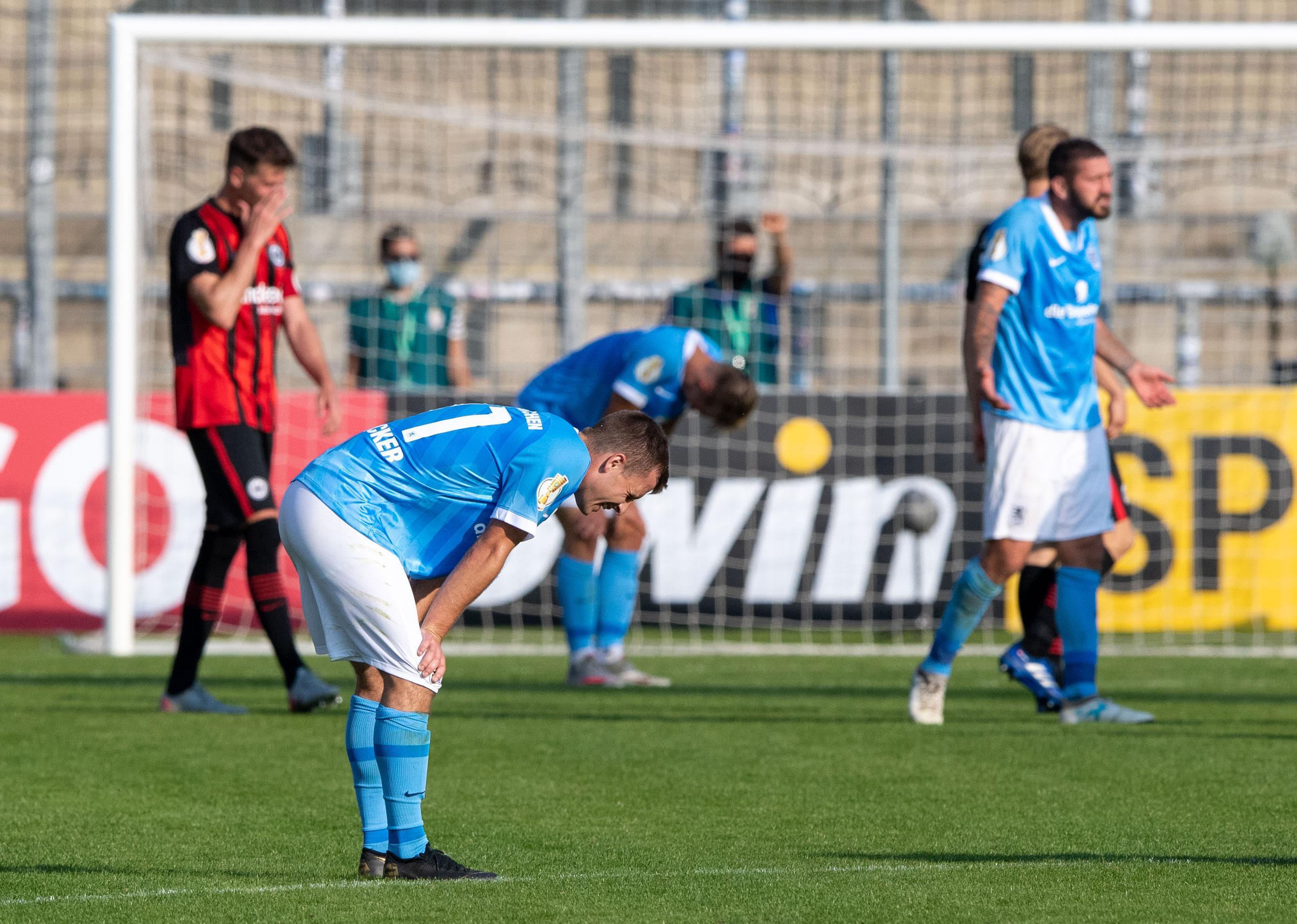 Eintracht Frankfurt ohne Zuschauer beim TSV 1860 München