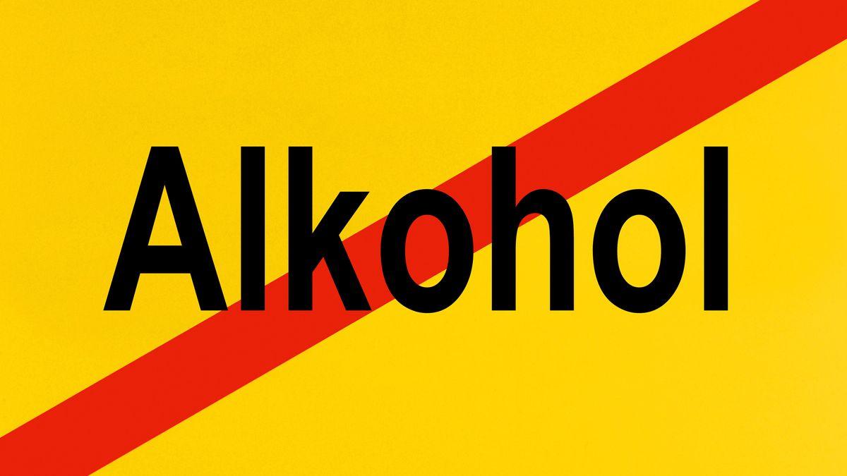 Symbolbild: Alkoholverbot
