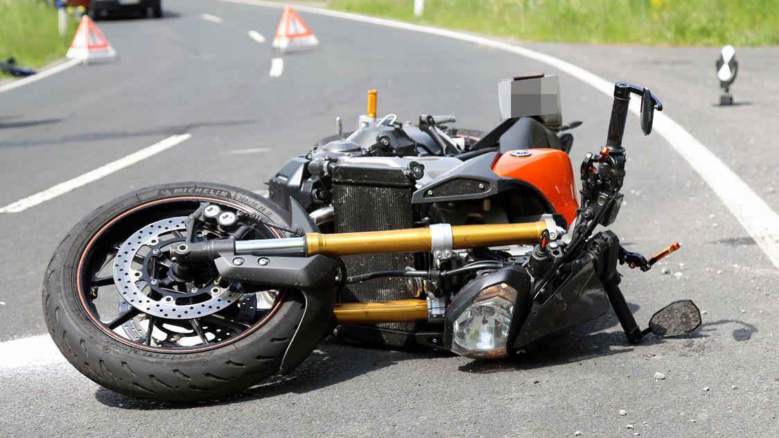 26-jähriger Motorradfahrer tödlich im Spessart verunglückt