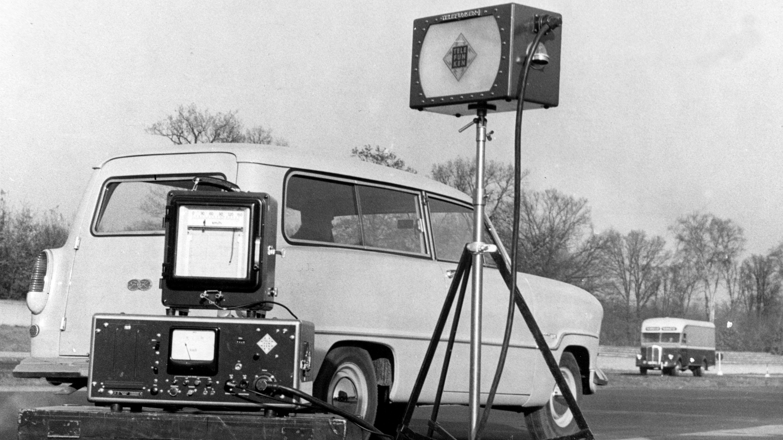Bitte recht freundlich! Radarfallen-High-Tech 1959 ...