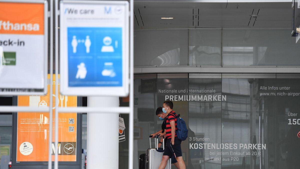 Terminal 2 im Flughafen Franz Josef Strauß in München