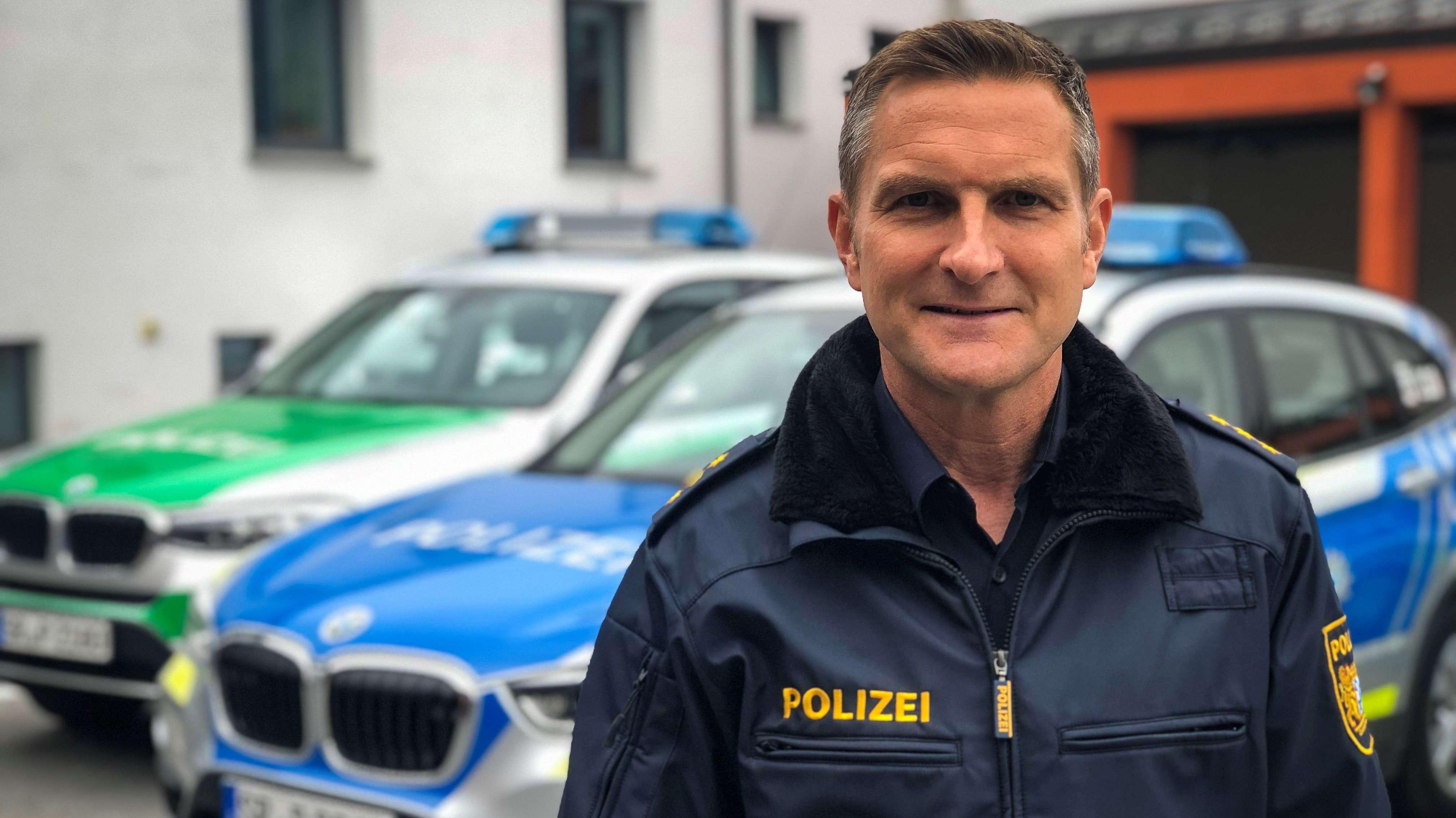 """Deggendorfs Polizeichef Stephan Seiler: """"In dieser Heftigkeit kommt es selten vor, dass ein Kind angefahren wird."""""""