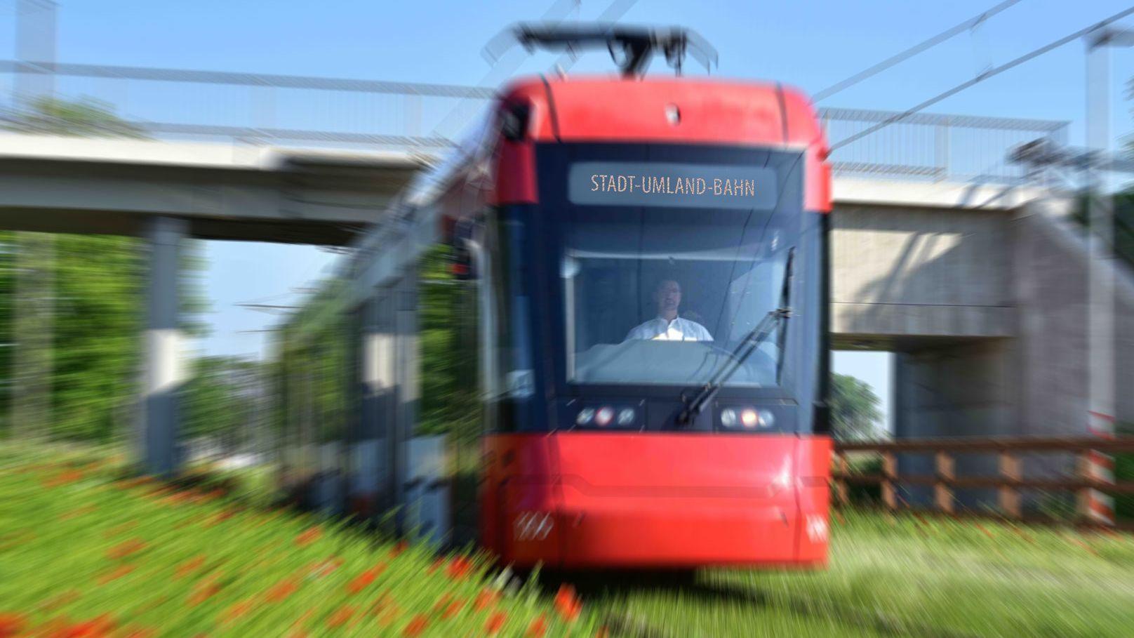 Symbolbild der Stadt-Umland-Bahn