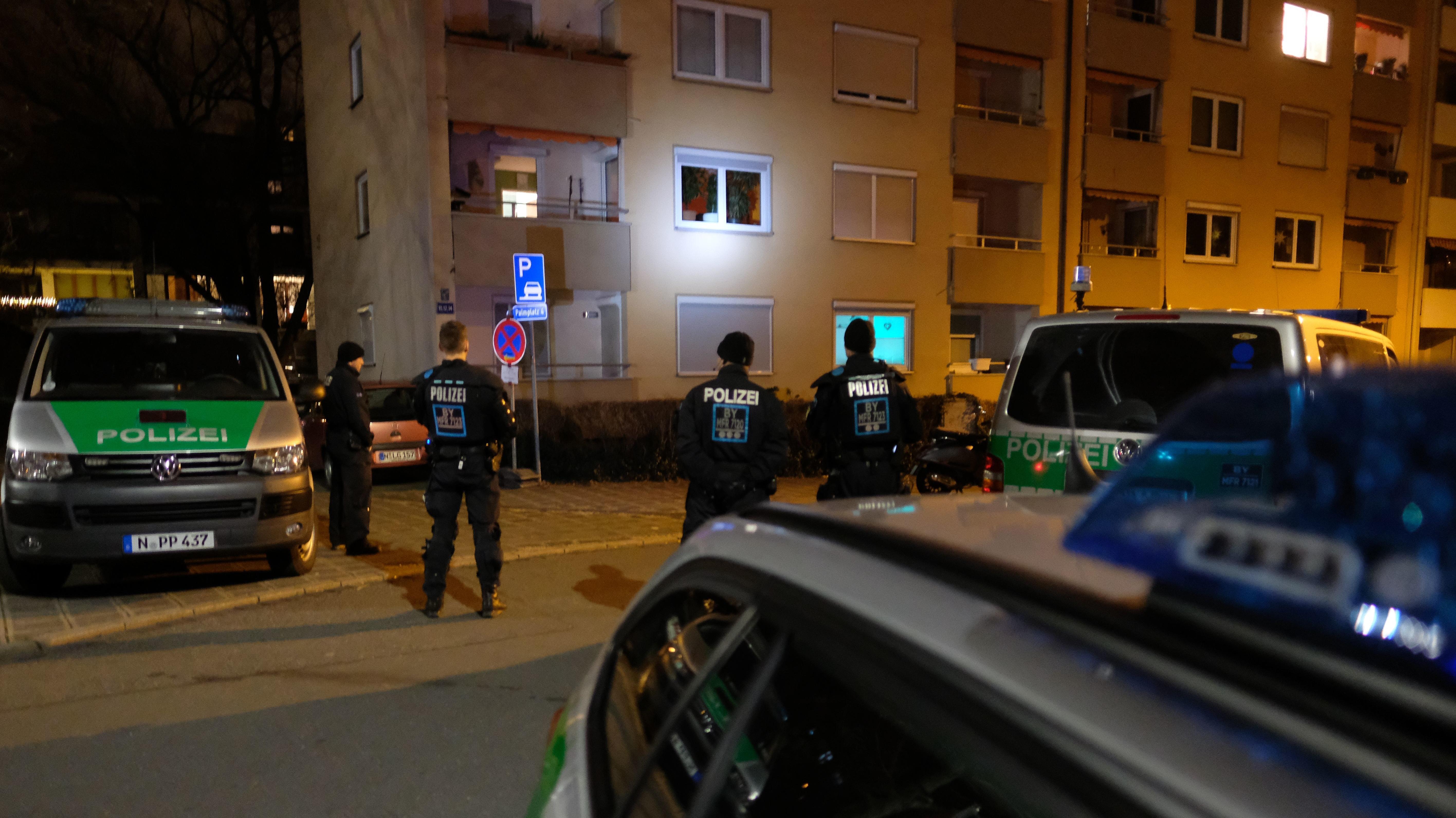 Polizeieinsatz in Nürnberg-St. Johannis