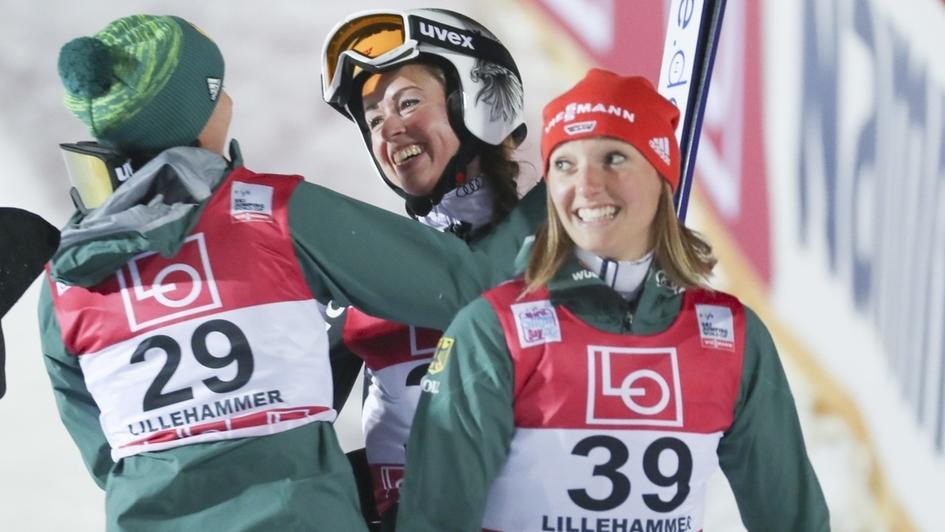Frauen-Skispringen nordisch