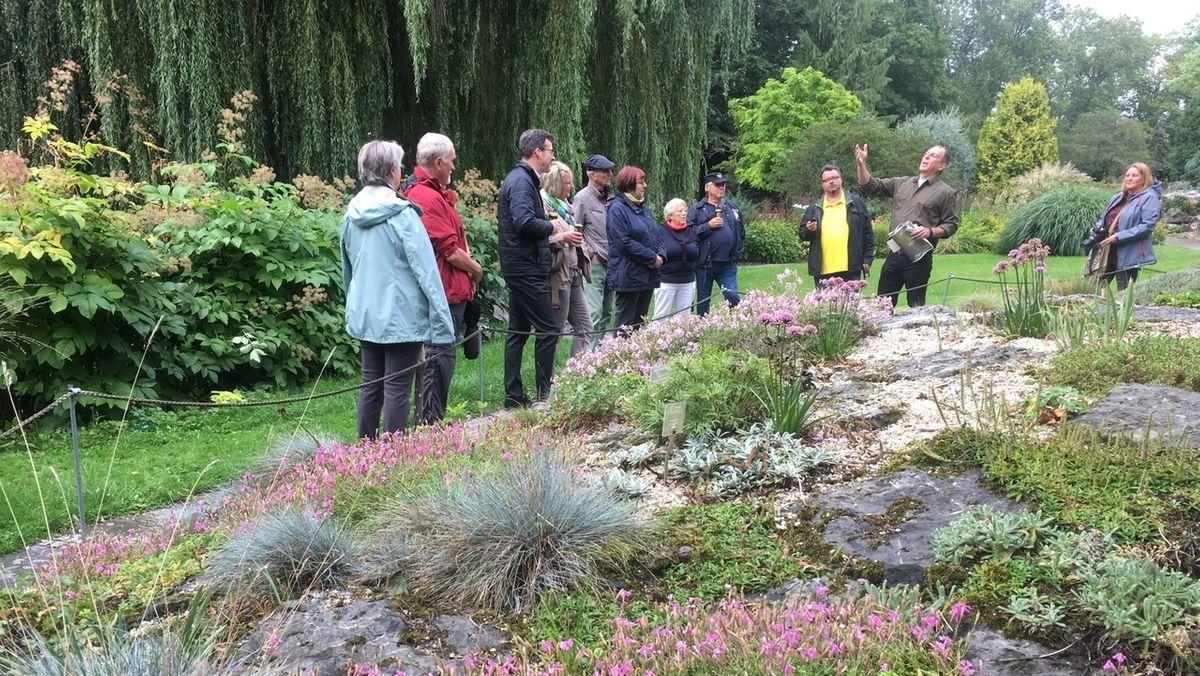 Im Botanischen Garten in Hof gibt es erstmals Führungen extra für Männer.
