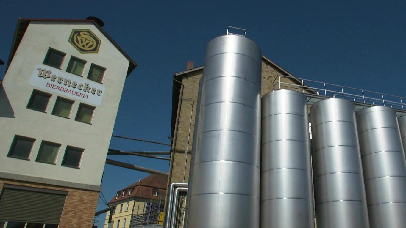 Wernecker Brauerei in Unterfranken
