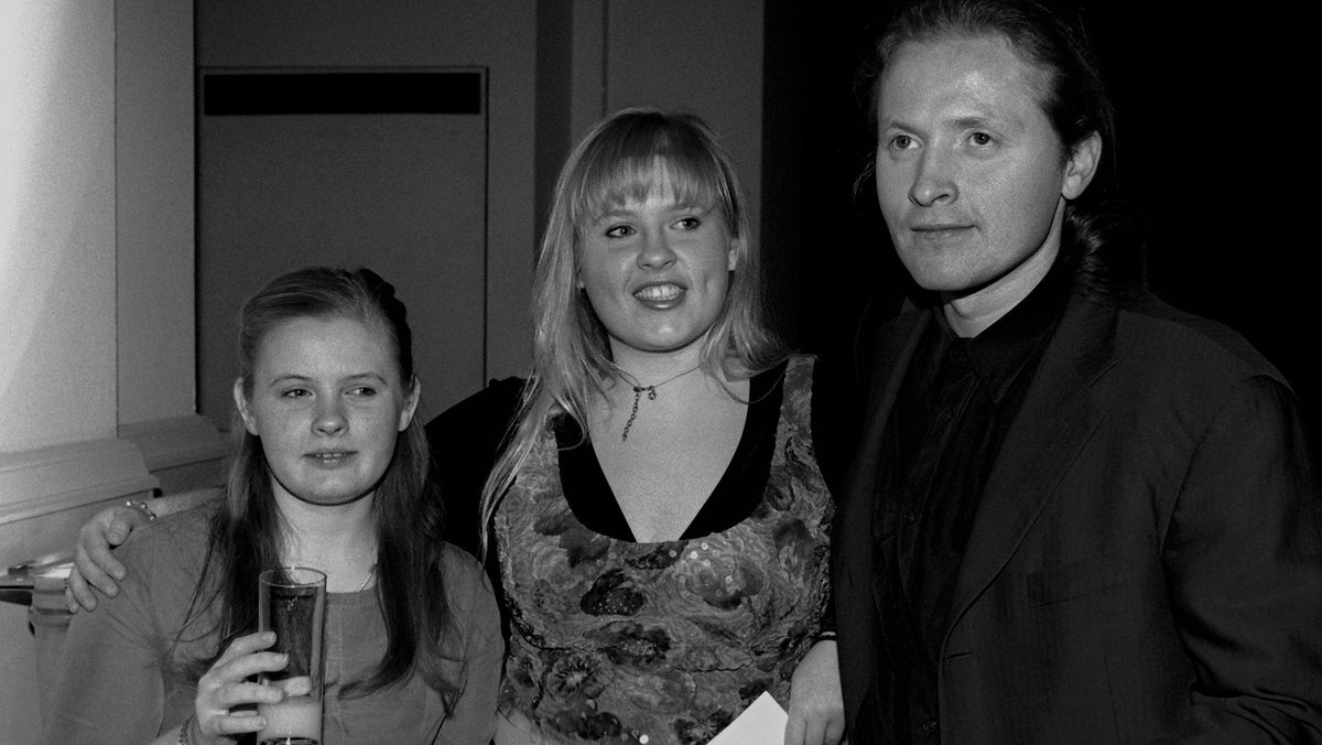 """Barby, Maite und Joey Kelly von der irischen Musikgruppe """"Kelly Family"""" im März 2000"""